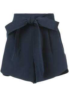 Milly tie waist shorts - Blue