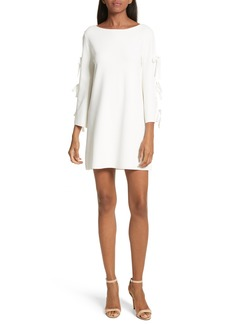 Milly Tied Bell Sleeve Shift Dress