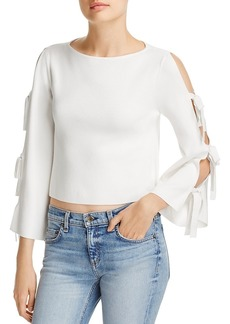 Milly Tied Together Cropped Top