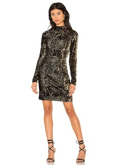 MILLY Turtleneck Dress