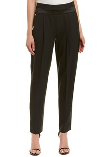 Milly Tuxedo Wool-Blend Trouser