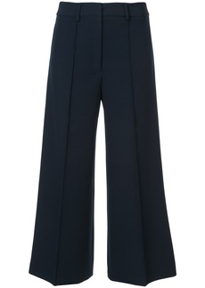 Milly wide leg cropped trousers - Blue