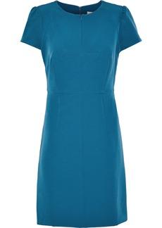 Milly Woman Cady Mini Dress Teal