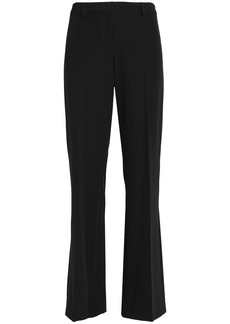 Milly Woman Cady Straight-leg Pants Black