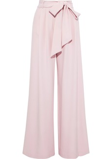 Milly Woman Cady Wide-leg Pants Baby Pink
