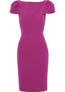 Milly Woman Gathered Cady Dress Magenta
