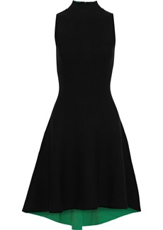 Milly Woman Ponte Dress Black
