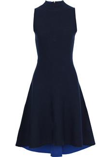 Milly Woman Ponte Dress Midnight Blue