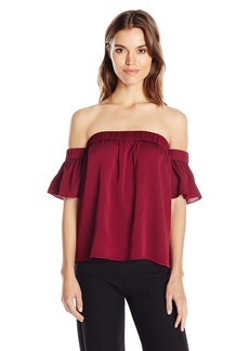 MILLY Women's Bare Shoulder Top  M