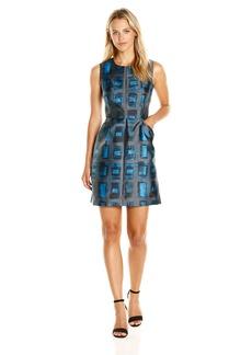 Milly Women's Brushstroke Rectangle Coco Dress