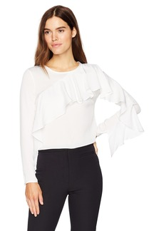 MILLY Women's Cascade Sleeve Top