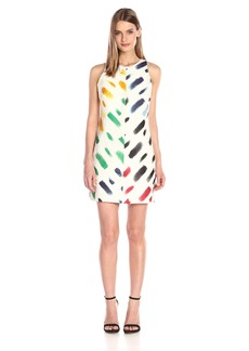 MILLY Women's Couture Brushstroke A-Line Shift Dress