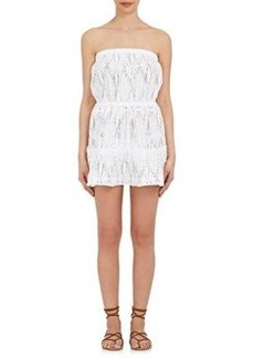 Milly Women's Crochet Lace Cover-Up Minidress