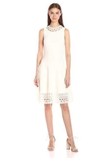 MILLY Women's Cut-Out Swing Dress  M
