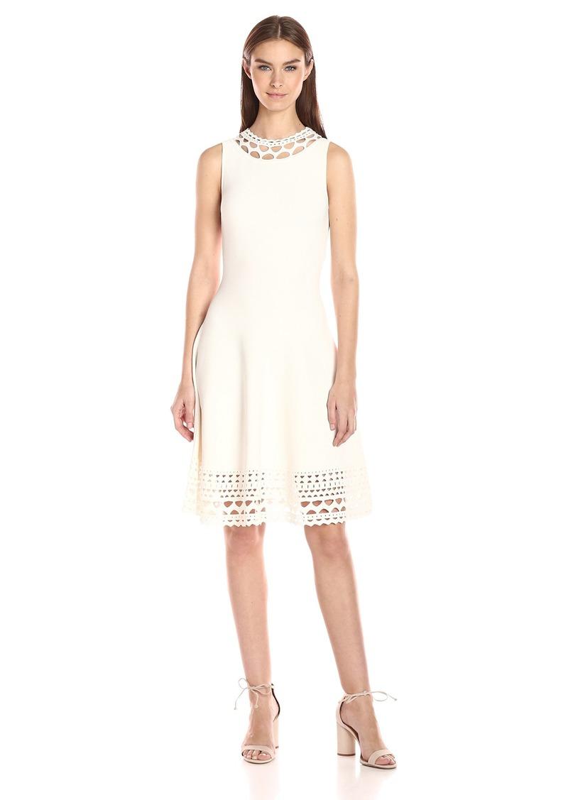 MILLY Women's Cut-Out Swing Dress  M