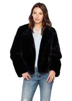 MILLY Women's Faux Fur Jacket  L