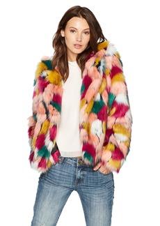 MILLY Women's  Faux Fur Jacket S