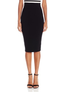 MILLY Women's Fitted Skirt  L