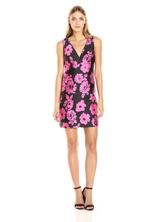 MILLY Women's Floral Print Mini Dress