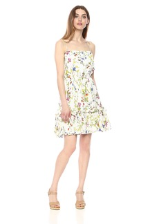 MILLY Women's Floral Print on GGT Cathy Dress  L