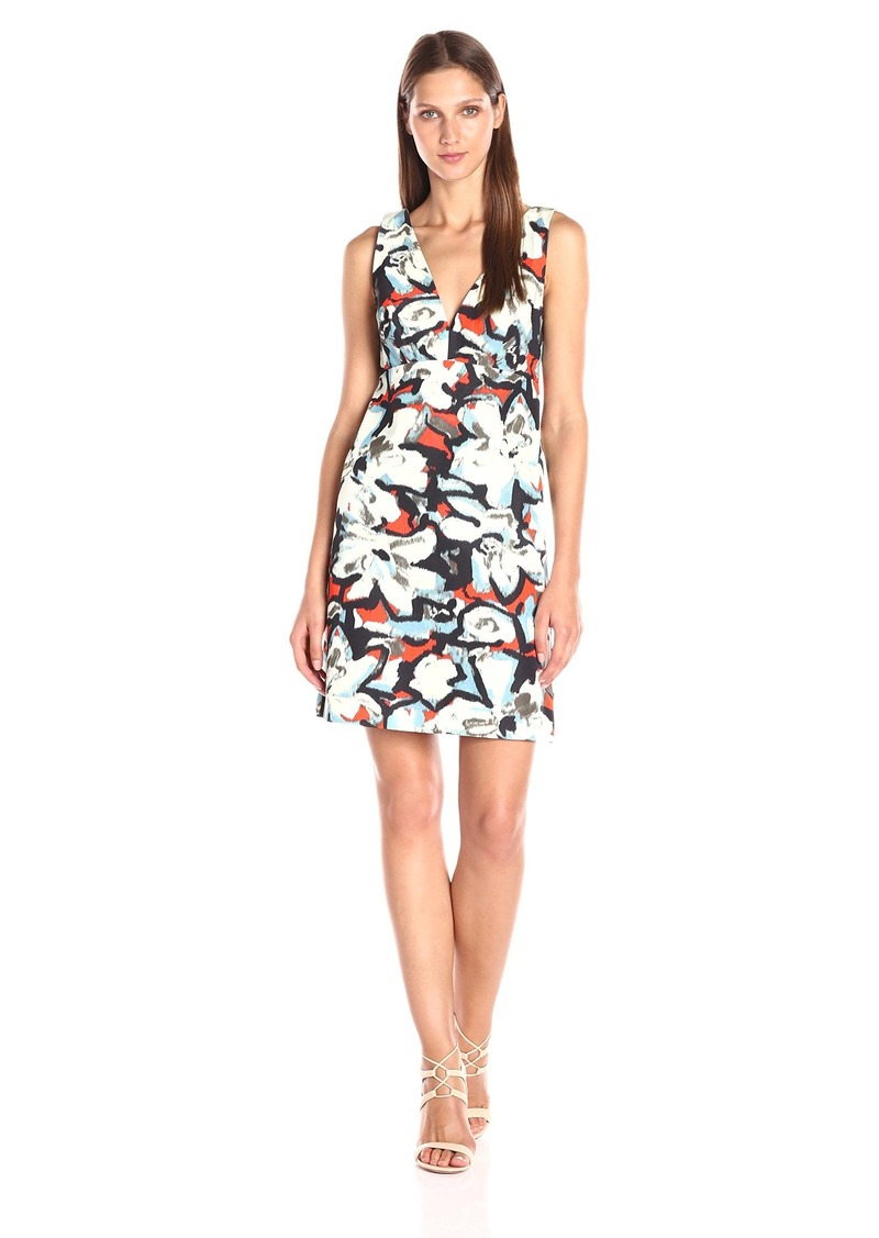 MILLY Women's Gardenia Print Mini Dress