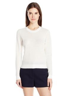 MILLY Women's Hexagon Stitch Pullover  M