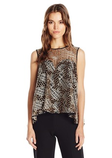 MILLY Women's Illusion Top