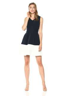 MILLY Women's Italian Cady Jan Dress