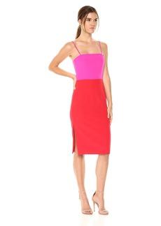 MILLY Women's Italian Cady Pencil Dress