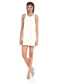 MILLY Women's Italian Cady Trapeze Dress