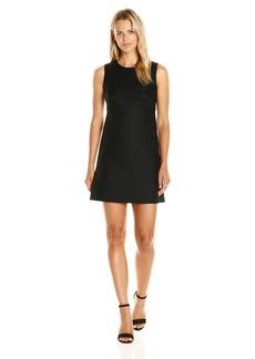 MILLY Women's Italian Twill Sweetheart a-Line Dress