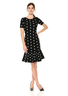 MILLY Women's Polka Dot Mermaid Dress  M