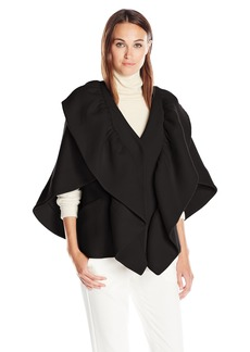 Milly Women's Ruffle Cape Jacket  S