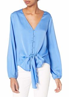 MILLY Women's Silk Blouse  M