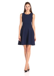 MILLY Women's Structured Swing Dress  S