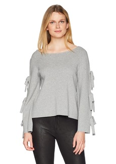 MILLY Women's Tied Together Pullover  M