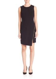 MILLY Zipper Sheath Dress