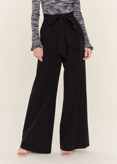 Milly Natalie Tie Waist Wide Leg Pant - 0 - Also in: 8