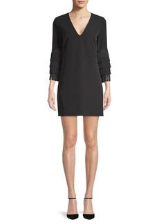 Milly Nicole Fringe Shift Dress