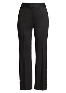 Milly Paige Cropped Ponte Pants