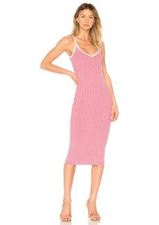 Plaited Rib Slip Dress