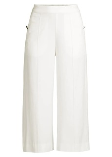 Milly Presley Twill Cropped Pants