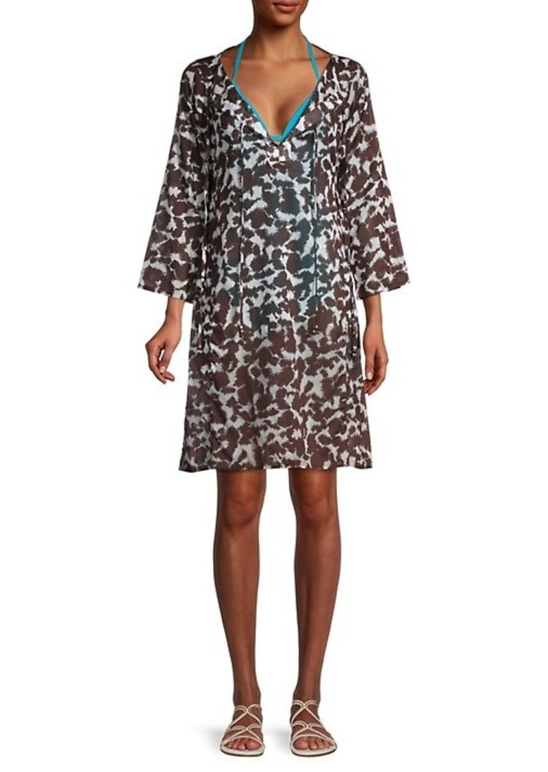 Milly Printed Cotton Coverup