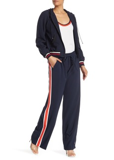 Milly Racer Stripe Track Pants