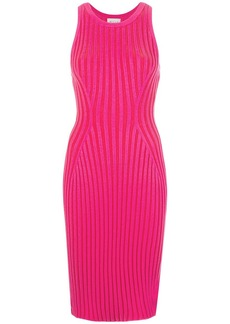 Milly ribbed sleeveless dress