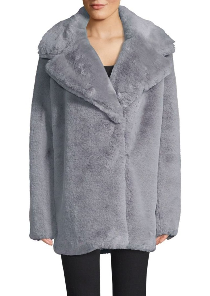Milly Riley Faux Fur Coat