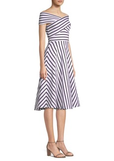 Milly Rivera Stripe Knit Dress