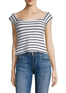 Milly Rivera Striped Top