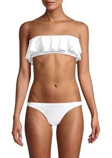 Milly Ruffle Bandeau Bikini Top