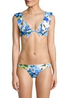 Milly Ruffle Bikini Top